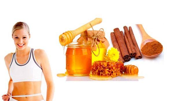 giảm cân an toàn với mật ong