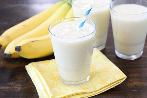 kết hợp chuối và sữa tươi