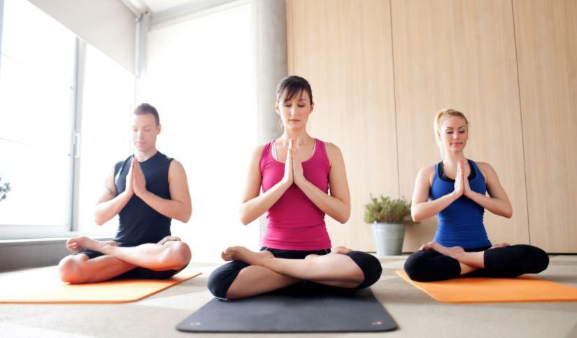 thể dục tăng cân yoga