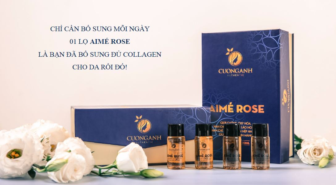 collagen aime rose cường anh