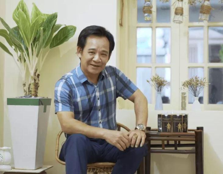 Nghệ sĩ Quang Tèo và tăng cân Hoa bảo