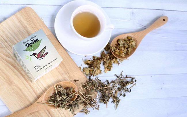 Thành phần trà giảm cân Vy Tea