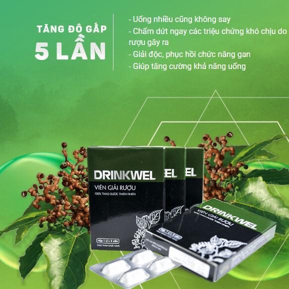 Viên giải rượu drinwel hiệu quả