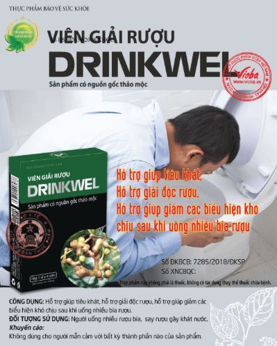 Viên giải rượu drinwel