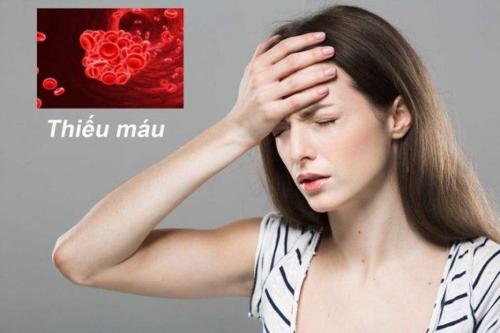 Gầy ốm dễ dẫn đến bệnh thiếu máu