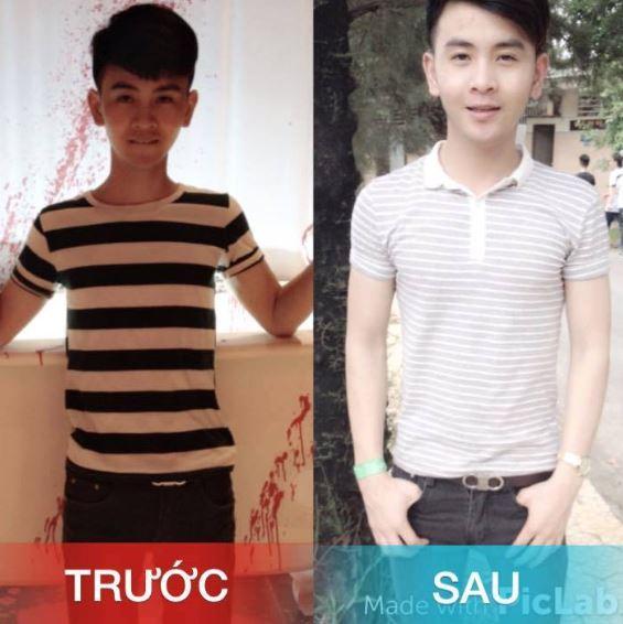 trước và sau khi dùng wisdom weight