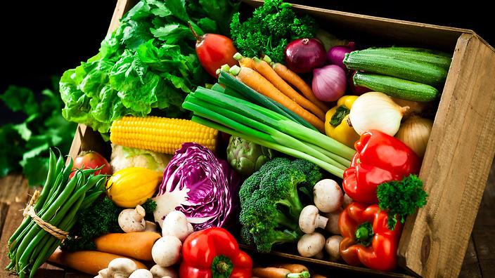 chế độ ăn nhiều rau củ