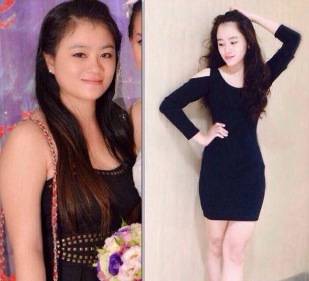 trước và sau giảm cân