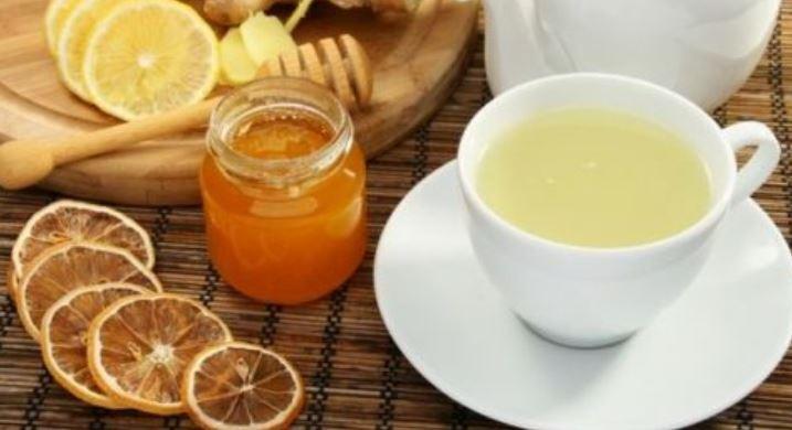 mật ong gừng giúp giảm mỡ bụng