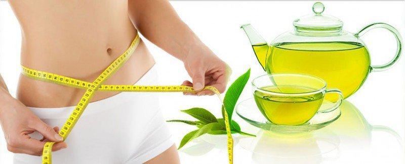 hiệu quả từ giảm cân với trà xanh