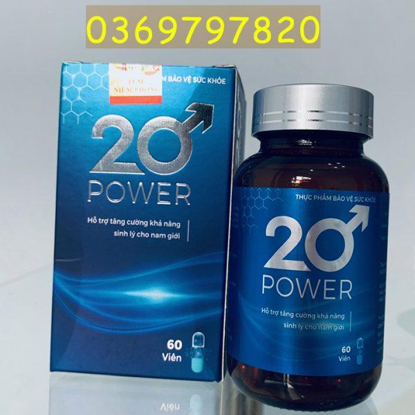20 Power tang cuong sinh ly nam