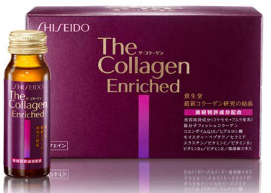 Collagen Shiseido làm đẹp da