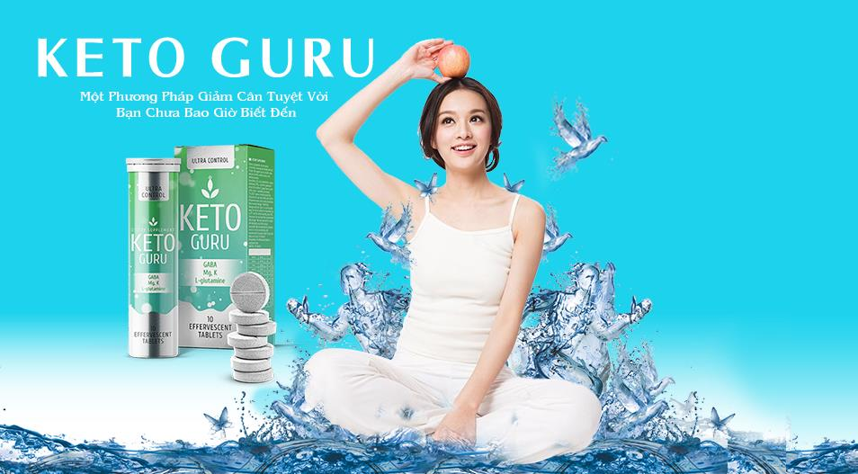 Thành phần của giảm cân Keto Guru