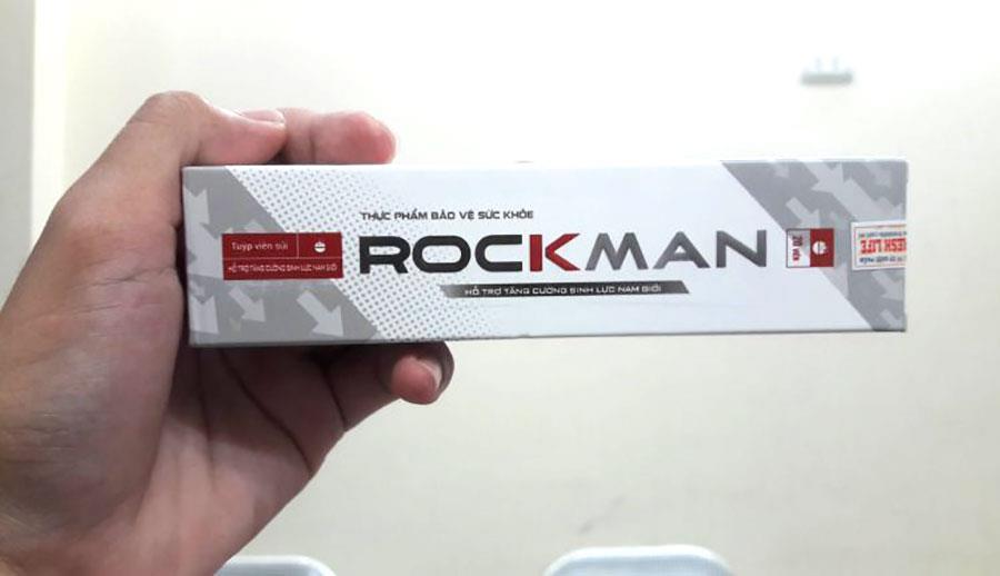 Viên sủi kích thích sinh lý nam giới Rockman