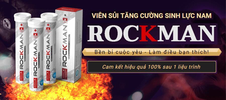 công dụng viên sủi sinh lý Rockman