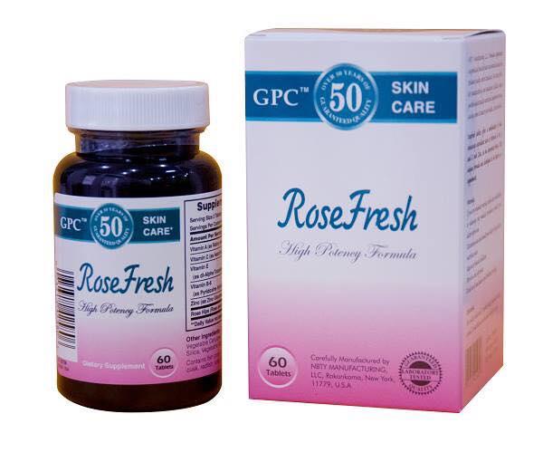 rose fresh hỗ trợ điều trị mụn