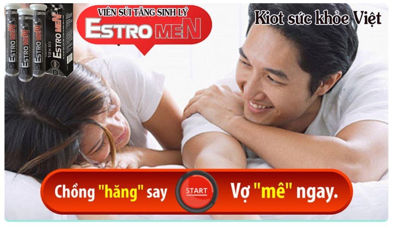 viên sủi Estromen tăng cường sinh lý nam