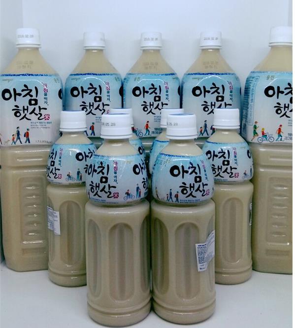 bà bầu uống nước gạo Hàn Quốc được không
