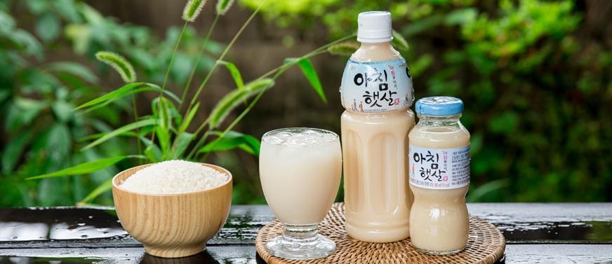 nước gạo hàn quốc tốt cho sức khoẻ người dùng